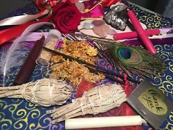 13+ Surprise Witchery Kit Items WitchcraftWicca Spells wInst to write your own