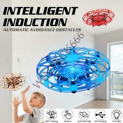 Mini Hand Operated Drone For Kidsamp;AdultsSafety Motion SensorFlashing LED $13.59