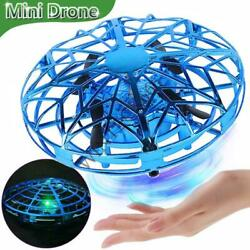 Mini Drone for Kids Adults Hand Controlled Quadcopter Light Up Flying Toys $13.59