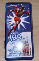 Power Rangers Red Oral B Stages Power Toothbrush New Old Stock Collectible $19.99