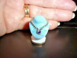 HANDCRAFTED  JEWELRY BUST FOR A DRESSER - DOLL HOUSE MINIATURE