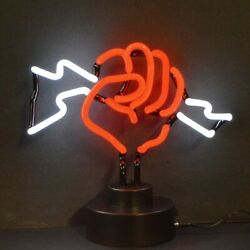 Fist With Lightning Neon Sculpture by Neonetics $98.88