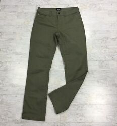 MARMOT Mens Size 32 x 34 Morrison Jeans Straight Leg Rosin Green 5 Pocket Pants