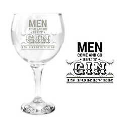 Ginsanity Gin Balloon Glass Cocktail Men Come and GO GBP 14.99