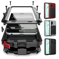 For Samsung Galaxy S21 Note20 S20 10 9 Metal Shockproof Aluminum HEAVY DUTY Case $18.98