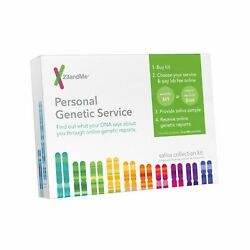 23andMe Personal Genetic Service DNA Saliva Kit For Ancestry & Health 72020