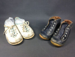Antique Pairs of Shoes for Baby or Doll Babybotte Shoe 18 and 21 $43.25