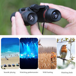 Mini Binoculars Telescope 30X60 Zoom Day Night Vision Foldable Travel Hunting  $9.94