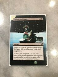 Magic: The Gathering Tribute to Hunger Hand Painted Altered Art *Free Shipping*