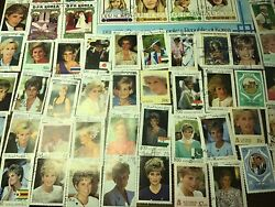 HRH PRINCESS OF WALES DIANA STAMPS x 60+ ASSORTED.