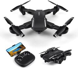 Drone: HD w 120° Wide Angle Camera Live VideoWiFi Foldable1 Key Take off Land $69.99