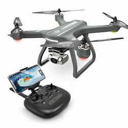 Holy Stone HS700D Brushless GPS drone with 2K HD camera 5G FPV RC quadcopter LED $189.99