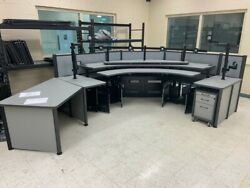Watson IT Control Room Workstations Multi-monitor Desk Table GII $7,650.00
