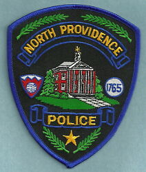 NORTH PROVIDENCE RHODE ISLAND POLICE SHOULDER PATCH $6.00