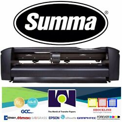 "SUMMA 24""  61 Cms Vinyl Cutter  Plotter Sign Cutting Machine wSoftware $1,799.99"