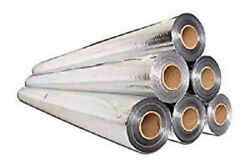 Perforated Radiant Barrier Reflective Foil Insulation 500 Sq Ft 4x125 50 Gram $72.88
