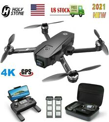 Holy Stone HS720E Brushless GPS Drone 4K FPV FHD Camera RC Quadcopter Carrybag $269.00