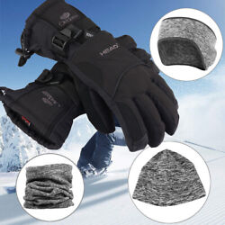 Cold Weather Non Slip Waterproof Gloves For Skiing Hiking Camping Cycling $24.99