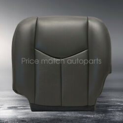 2003 2004 2005 2006 Chevy Silverado 1500 2500 Driver Bottom Seat Cover Black