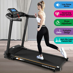 1500W Folding Treadmill Electric Motorized Running Machine Wide Multi Layer Belt $299.99