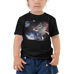 Astronaut Sloth In Space Novelty Toddler Short Sleeve Tee $19.50