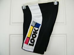 Collectible RARE vintage classic mens LOOK team cycling shorts bike bicycle USA $160.00