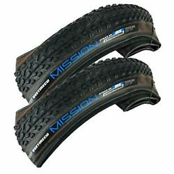 2 Vee 29x2.25 Pair of Bike Tires Folding Bead Dual Control Compound 29x2.25 Tire $49.88