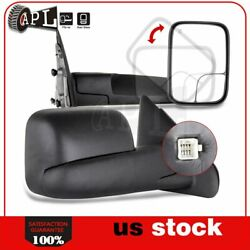 Power Heated Tow Mirrors For 2002-2008 Dodge Ram 15002003-2009 2500 3500 $99.06