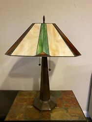 TIFFANY STYLE TABLE LAMP large 24quot; 26quot; $129.99