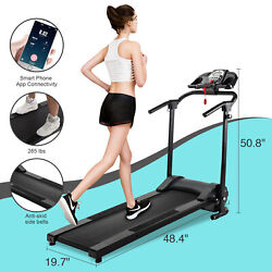 750W Foldable Electric Motorized Treadmill Running Jogging Gym Power Machine $429.99