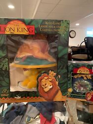 Vintage The Lion King Kid's Lamp With Sound Alarm Clock