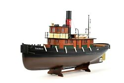 Taurus Tugboat Handcrafted Wooden Boat Model 37quot; RC Ready $1200.00