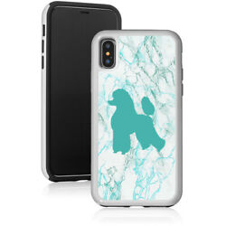 Marble Shockproof Hard Case Cover Protector For Apple iPhone Poodle $14.99