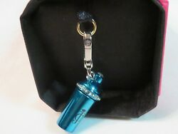 Juicy Couture Blue Cocktail Shaker Charm New without Tags $29.00