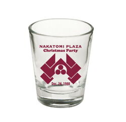 Die Hard Movie Prop Holiday Party Christmas Shot Glass LIMITED EDITION $9.99