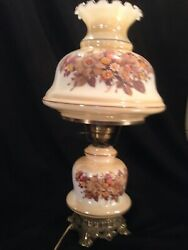 Hurricane Parlor Lamp Vintage 1971 L&L WMC Gone With the Wind 26