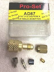 Panasonic R410a Adapter Low-Side Service Port KIT 410 Air Conditioner Adapter $12.99