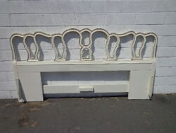 Headboard French Provincial Bed King Size Vintage Bedroom Neoclassical Regency $499.00