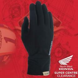 Oxford Deluxe Micro Fibre Under Gloves Black S M CA270 GBP 11.99