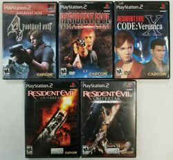 Horror Survival games Playstation 2 PS2 Tested Resident Evil Silent Hill $17.97