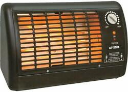 OPTIMUS H2210A BLACK PORTABLE FAN FORCED RADIANT HEATER* FREE SHIPPING* $42.89