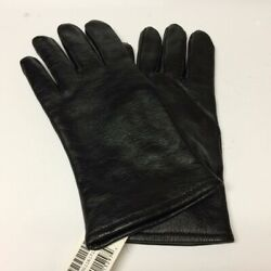 SAMCO Military Black Leather Gloves w Polyester Wool Lining Size 5 6 7 8 NEW $9.95