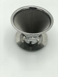 Pour Coffee Filters Over Metal Dripper Reusable Stainless Steel Cone Single $5.99