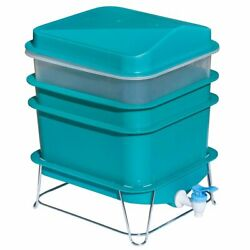 4 Tray Worm Factory Farm Compost Small Compact Bin Set $69.99