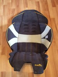 Evenflo Chase LX Toddler Convertible Car Seat Cover Cushion Part Gray Yellow $16.99