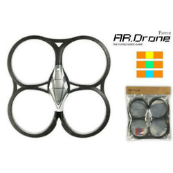 Parrot AR Drone Indoor hull With stickers. Protective Foam.  New never used $30.00