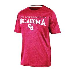 New OKLAHOMA SOONERS Shirt Small Champion Impact Tee athletic $9.99