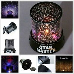 Sky Projector Starry Night LED Lamp Star Light Cosmos Master Decor Romantic Gift $15.99