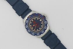 Tag Heuer 370.513 WA1210.BS0079 Professional Watch Womens Mens MIDSIZE Blue Red
