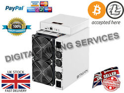 BITMAIN ANTMINER S17 50THs WITH APW3++ PSU - BTC BCH BITCOIN MINING SHA-256
